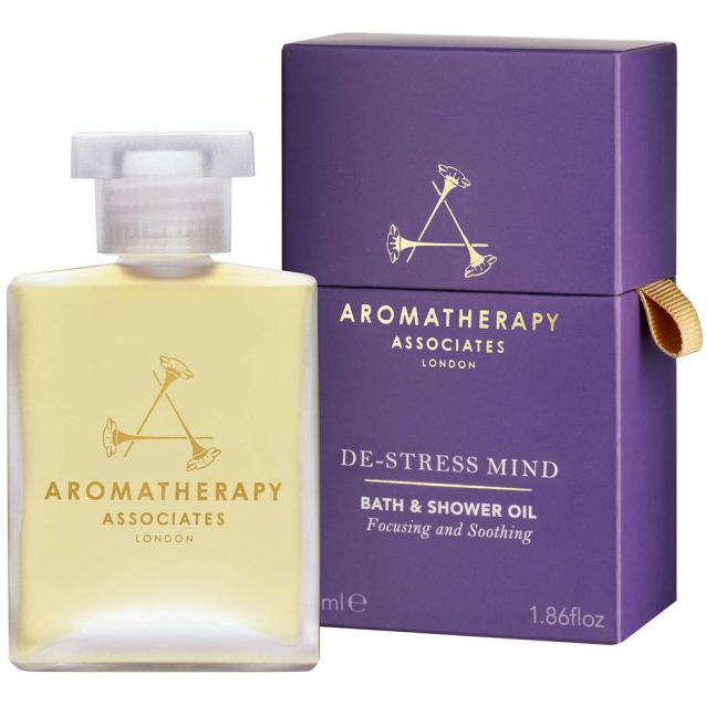 Aromatherapy Associates De Stress Mind Bath And Shower Oil 55ml
