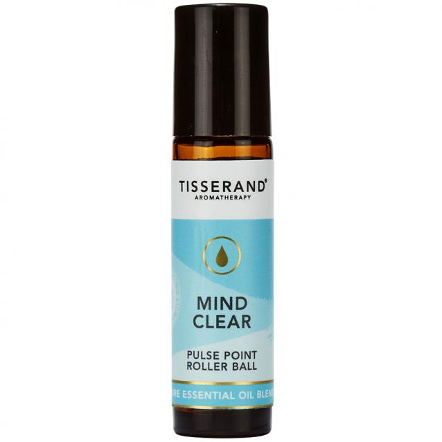Tisserand Aromatherapy Mind Clear Pulse Point Roller Ball 10ml