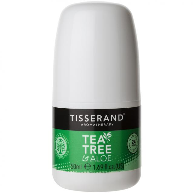 Tisserand Tea Tree And Aloe Deodorant 50ml