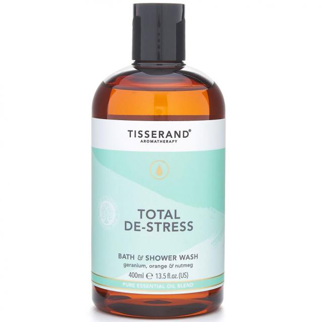 Tisserand Total De Stress Bath And Shower Wash 400ml