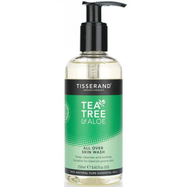 Tisserand Tea Tree And Aloe All Over Skin Wash 250ml