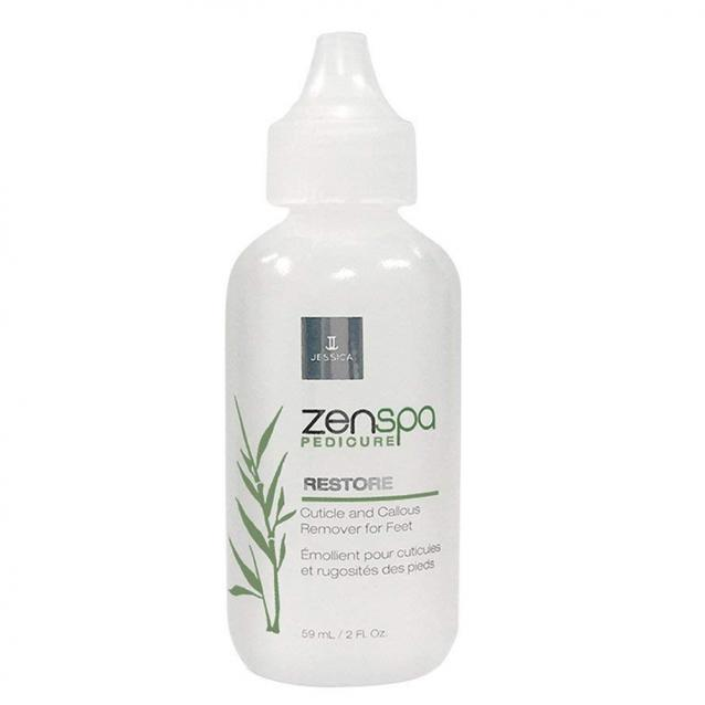 Jessica Zenspa Restore Cuticle And Callous Remover For Feet 59ml
