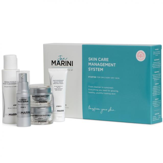 Jan Marini Starter System For Dry To Very Dry Skin Kit